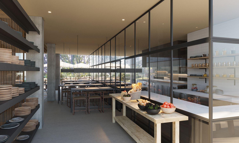 RESTAURANTE MISURA HOTEL ARIMA TRENCHS STUDIO 1
